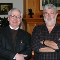 Robert and George at Skywalker Ranch